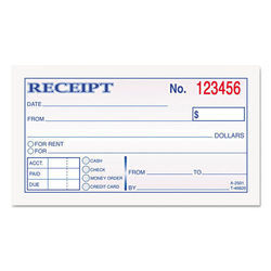 Receipts Books Printing Services