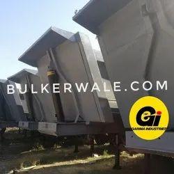 GI 42立方米提示拖车,用于运输散装水泥,提升能力:40吨大约