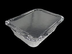 250ml Rectangular Aluminium Food Containers