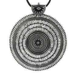 Chakra Design Handmade 925 Sterling Silver Pendant