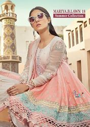 Shree Fab Mariya B.lawn Vol No18 Summer Collection Pakistani Suit