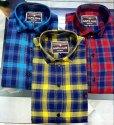 Cotton Dobby Check Shirt
