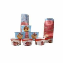 110 ml Paper Ice Cream Cup, Packet Size: 100 Pieces
