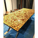 Wooden Epoxy Coffee Table