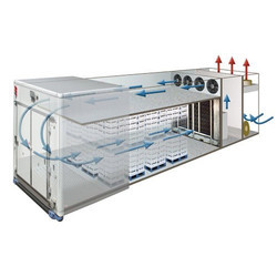 Antes Blast Freezer Unit, Capacity: 1-10 Ton