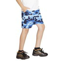 Clifton Boy's Printed Army Shorts