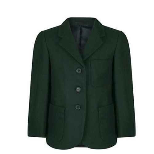 cd69edc2c Dark Green Girls School Blazer
