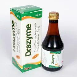 Fungal Diastase, Pepsin with Vitamin B-Complex Syrup