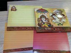 Golden Wedding Card, Size: 9x8