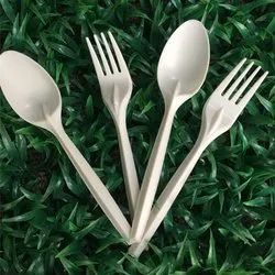 Biodegradable Corn Starch Spoon