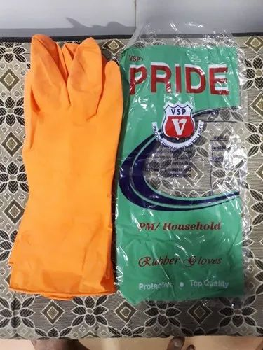 House Hold Rubber Hand Gloves