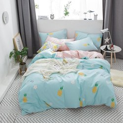 Bedding Set (Flat Sheet Fitted Sheet Pillow Cover)