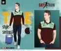 Pg Cotton Skyrun Men's Collar T Shirt