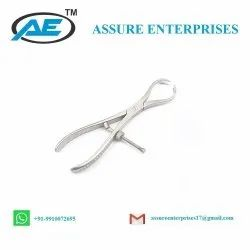 Patella Bone Holding Forceps Orthopedic Surgical Instrument