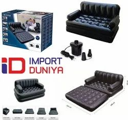 5 In 1 Sofa Black
