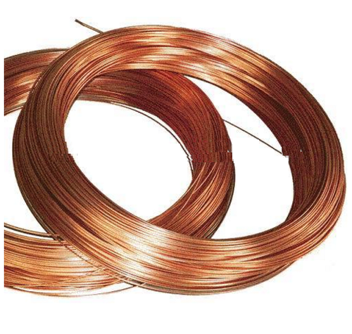 Solid Round Bare Copper Wires, Size: 4 Swg - 30 Swg, For Grounding
