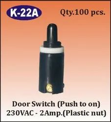 K-22 A Push to ON Door Switch