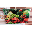 3D Fruits And Vegetable Kitchen Wall Tiles