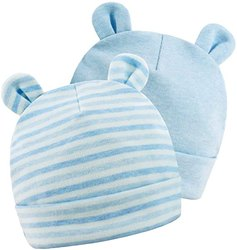 Knitted Beanies Cotton Newborn Baby Boy Hat Spring Newborn Boys Hat Cute Rabbit Infant Beanie