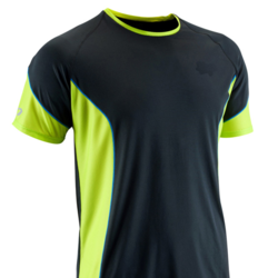 0d9b056c Black And Green Cotton Men's Sports T-Shirt, Rs 249 /piece | ID ...