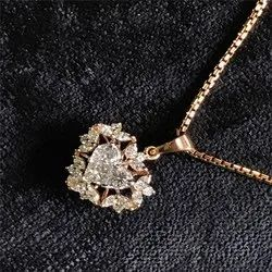Piecut Diamond Pendant
