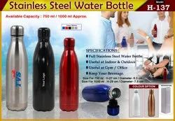 Steel Water Bottle H-137