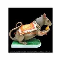 Marble Rat Statue