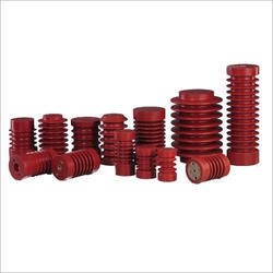 Red High Voltage Epoxy Insulator