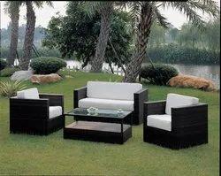 NEW BRAND Rattan Wicker Furniture, Table Shape: Round