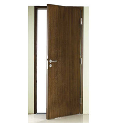 Wooden finesh steel Door