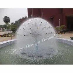 HF CDT Half Dandelion Fountain