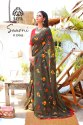 Mal Mal Span Printed Saree