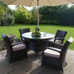 Garden Black Furniture Set