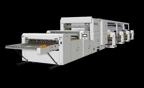 Paper Cutting Machine - Paper Roll To Sheet Cutting Machine