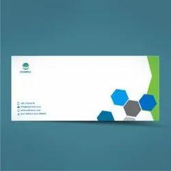 Multicolor Paper Envelope