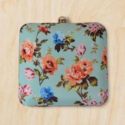 Floral Clutch Bag