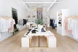 Boutique Interior, Work Done: Wood Work & Furniture