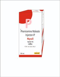 BIOGRADE ORGANICS Pheneramine Nyvil Injection, Packaging Size: 100 Ml, for Clinical