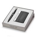 Sheaffer 9317 Ballpoint Pen With Business Card Holder