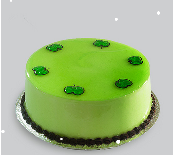 Miraculous Green Apple Cake New Items In Pazavanthangal Chennai Bakery Funny Birthday Cards Online Fluifree Goldxyz
