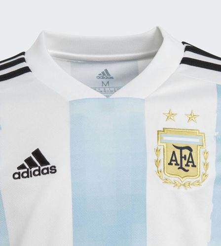 1d0a3ec9f Adidas Men and Girls argentina footbal world cup 2018 jersey with logo and  tags