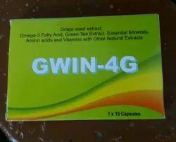 Grape Seed Extract Omega 3 Fatty Acid Green Tea Gwin 4G Capsule