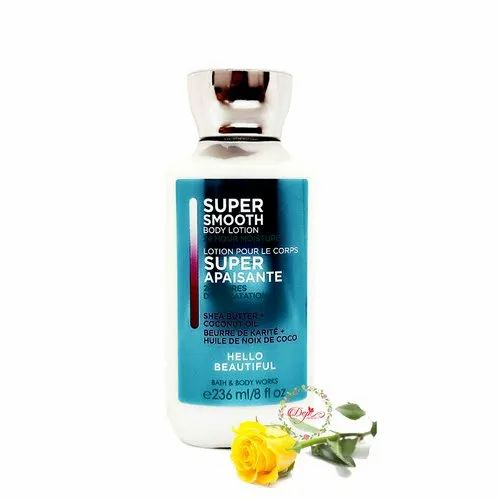 Bath & Body Works Super Smooth Body Lotion Hello Beautiful