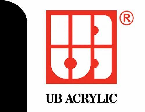 UB Acrylic Sheet, एक्रिलिक प्लास्टिक शीट