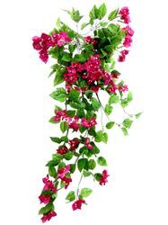 De Gardenia Plastic Artificial Bougainvillea Flower for Home Decor