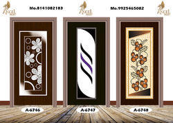 Multicolor Wooden Pooja Doors, For Home