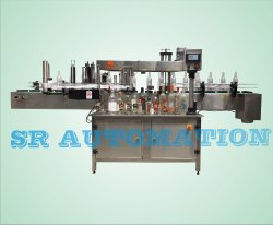 FRONT & BACK STICKER LABELING MACHINE