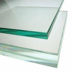 Transparent Plain Reflective Glass