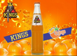 Royal Kings orange soft drink, Packaging Type: Bottles