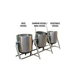 Steam Bulk Cooking, Capacity: 20-100 L